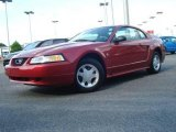 2000 Performance Red Ford Mustang V6 Coupe #15328061