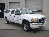 2005 Summit White GMC Sierra 2500HD SLT Crew Cab 4x4 #15326181