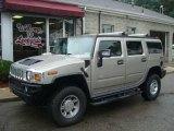 2003 Pewter Metallic Hummer H2 SUV #15340206
