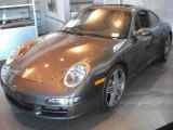 2008 Slate Grey Metallic Porsche 911 Carrera 4S Coupe #1531993