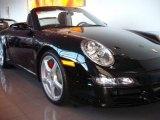 2008 Black Porsche 911 Carrera S Cabriolet #1532009
