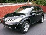 2005 Super Black Nissan Murano SL AWD #15331162