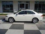 2005 Premium White Pearl Acura TSX Sedan #15394820