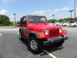 2006 Flame Red Jeep Wrangler X 4x4 #15323349