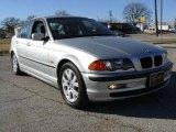 2000 Titanium Silver Metallic BMW 3 Series 323i Sedan #1532192