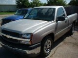 2005 Silver Birch Metallic Chevrolet Silverado 1500 Regular Cab #15398583