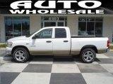 2008 Bright White Dodge Ram 1500 Big Horn Edition Quad Cab #15394815