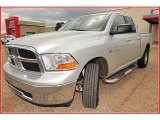 2009 Bright Silver Metallic Dodge Ram 1500 SLT Quad Cab 4x4 #15391919