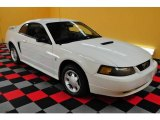 2001 Oxford White Ford Mustang V6 Coupe #15396044