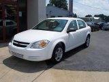 2007 Summit White Chevrolet Cobalt LS Sedan #15396035