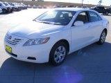 2008 Super White Toyota Camry LE #1533002