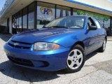 2003 Arrival Blue Metallic Chevrolet Cavalier LS Sedan #15460655