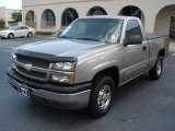 2003 Light Pewter Metallic Chevrolet Silverado 1500 LS Regular Cab 4x4 #15466432