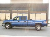 2003 Arrival Blue Metallic Chevrolet Silverado 3500 LT Crew Cab 4x4 Dually #15473674