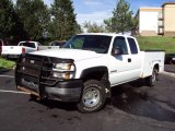 2007 Chevrolet Silverado 2500HD LS Extended Cab 4x4 Utility Truck Data, Info and Specs