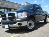 2007 Patriot Blue Pearl Dodge Ram 1500 ST Quad Cab #15458188