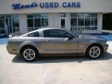 2005 Mineral Grey Metallic Ford Mustang GT Deluxe Coupe #15469703