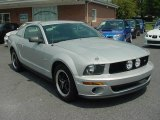2005 Satin Silver Metallic Ford Mustang V6 Deluxe Coupe #15397655