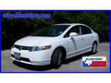 2007 Taffeta White Honda Civic EX Sedan #15459063