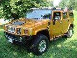 2006 Fusion Orange Hummer H2 SUV #15453189