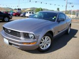 2007 Tungsten Grey Metallic Ford Mustang V6 Premium Coupe #15342816