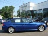 2009 Montego Blue Metallic BMW 3 Series 328i Sedan #15508132