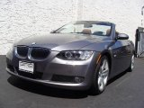 2007 Space Gray Metallic BMW 3 Series 335i Convertible #15507326