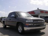 2002 Medium Charcoal Gray Metallic Chevrolet Silverado 1500 LS Extended Cab #15515532