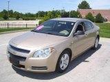 2008 Sandstone Metallic Chevrolet Malibu LS Sedan #15506504