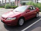 2002 San Marino Red Honda Accord EX V6 Coupe #15522144