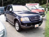 2003 True Blue Metallic Ford Explorer XLT 4x4 #15504967