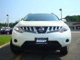 2009 Glacier Pearl Nissan Murano S AWD #15519442
