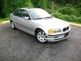 2001 Titanium Silver Metallic BMW 3 Series 325i Sedan #15573908