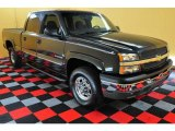 2003 Dark Gray Metallic Chevrolet Silverado 1500 LS Crew Cab 4x4 #15579662