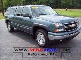 2006 Blue Granite Metallic Chevrolet Silverado 1500 Z71 Extended Cab 4x4 #15579651