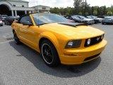 2007 Grabber Orange Ford Mustang GT Premium Convertible #15577082
