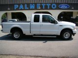 2004 Oxford White Ford F250 Super Duty XLT SuperCab #15577501