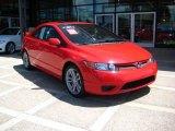2007 Rallye Red Honda Civic Si Coupe #15569942