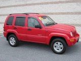 2002 Flame Red Jeep Liberty Limited 4x4 #15581972