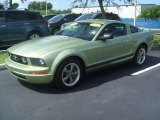 2006 Legend Lime Metallic Ford Mustang V6 Premium Coupe #15568360