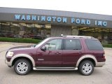 2006 Dark Cherry Metallic Ford Explorer Eddie Bauer 4x4 #15577673