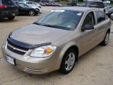 2007 Sandstone Metallic Chevrolet Cobalt LS Sedan #15572103