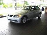 2008 Titanium Silver Metallic BMW 3 Series 328xi Sedan #15625320