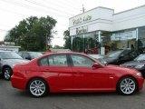 2009 Crimson Red BMW 3 Series 328i Sedan #15621998