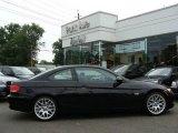 2009 Jet Black BMW 3 Series 328i Coupe #15621996