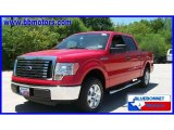 2010 Vermillion Red Ford F150 XLT SuperCrew #15566866