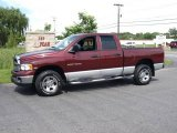 2003 Dark Garnet Red Pearl Dodge Ram 1500 SLT Quad Cab 4x4 #15632539