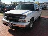 2006 Summit White Chevrolet Silverado 1500 LT Crew Cab #15636230