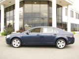 2008 Imperial Blue Metallic Chevrolet Malibu LS Sedan #15636496