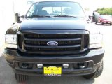 2004 Black Ford F250 Super Duty FX4 Crew Cab 4x4 #15625344